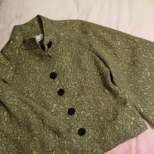Lovely Vintage Caroline Rose Jacket Size Small